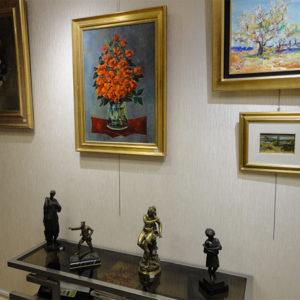 Bronzes et tableaux